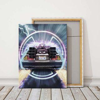 Картина Назад в Будущее Делориан - Скорость