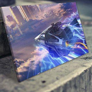 Картина Назад в Будущее - Облака