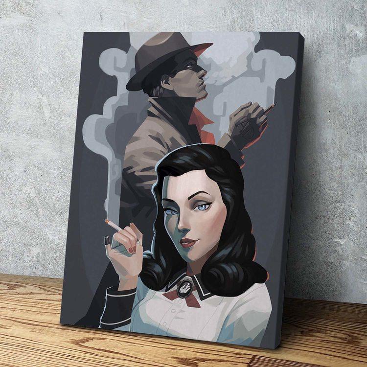 Картина Burial at sea - Bioshock