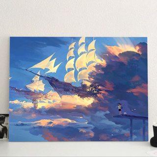 Картина Небесный Корабль