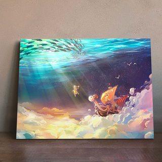 Картина по аниме Ван Пис - Гоинг Мерри