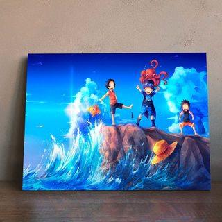 Картина по аниме Ван Пис - Юность