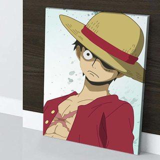 Картина по аниме Ван Пис - Луффи Портрет