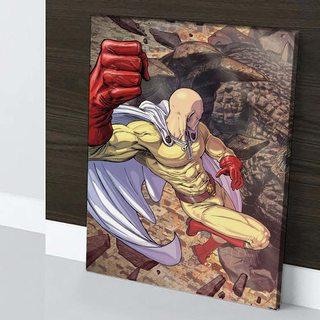 Картина по аниме Ванпанчмен - Голем