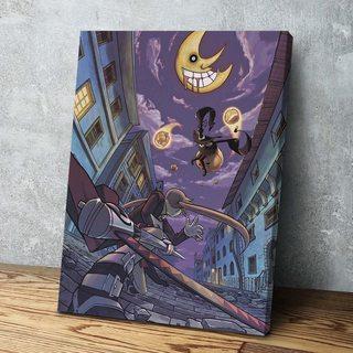 Картина по аниме Soul Eater