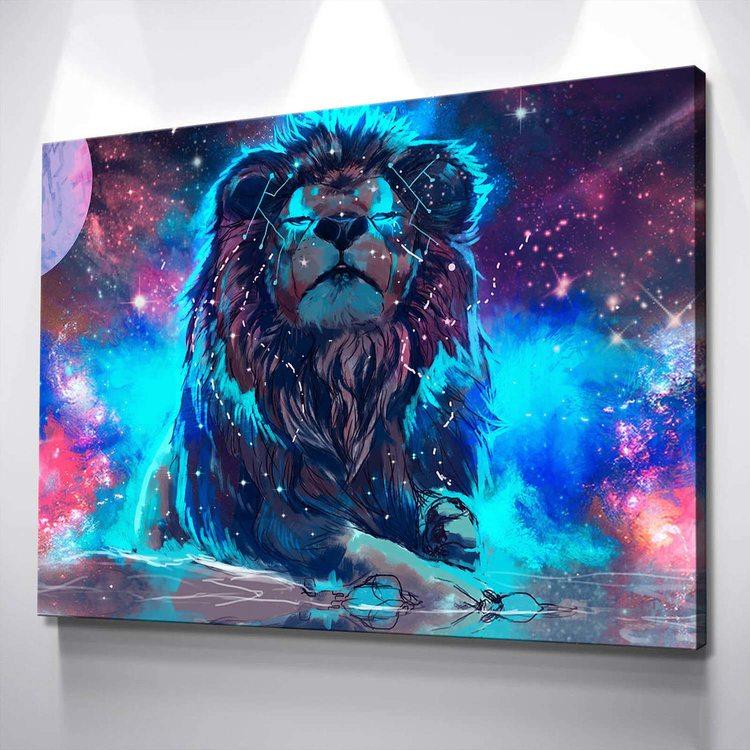 Картина Звездный Лев