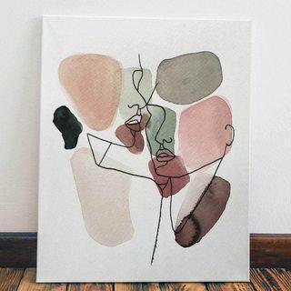 Картина Абстрактная Пара