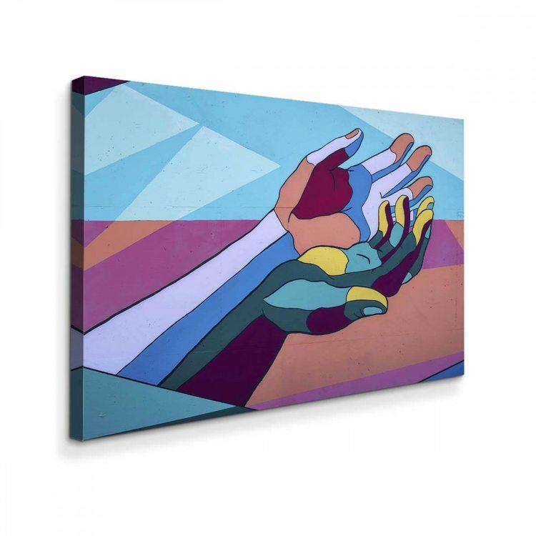 Картина Абстрактные Ладони