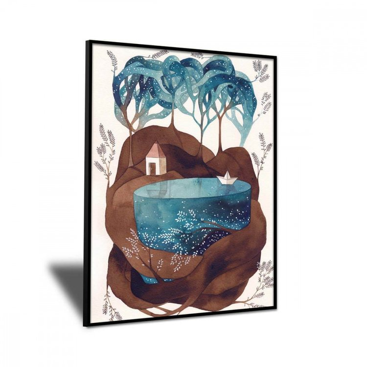 Картина Бумажный Кораблик