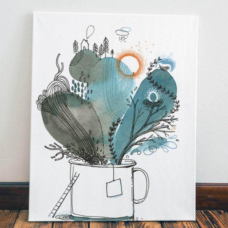 Картина Чай С Травами
