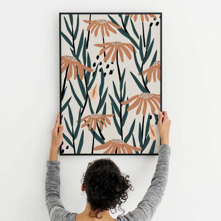 Картина Цветочный Узор