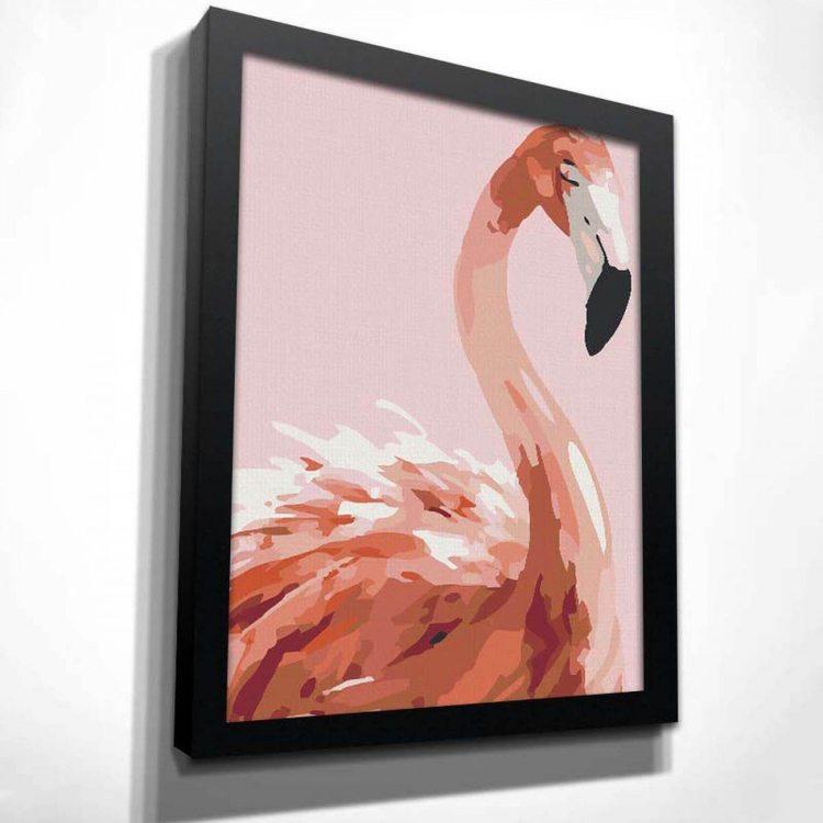 Картина Фламинго Акварельный