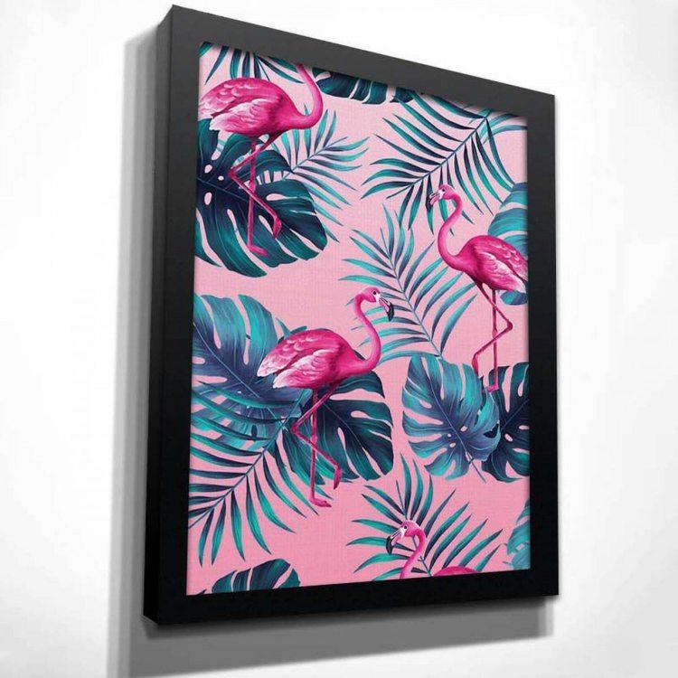 Картина Фламинго В Тропиках