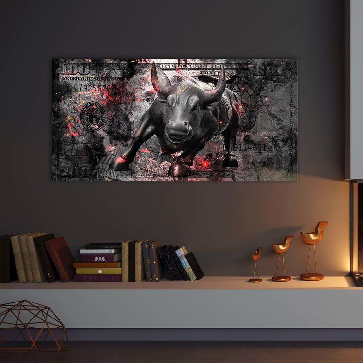 Картина 100 Dollars Bull