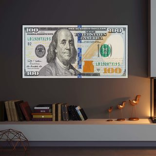 Картина 100 Dollars Origins