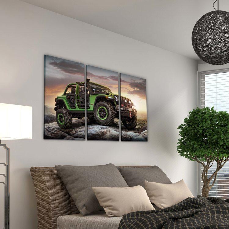 Картина Jeep Wrangler
