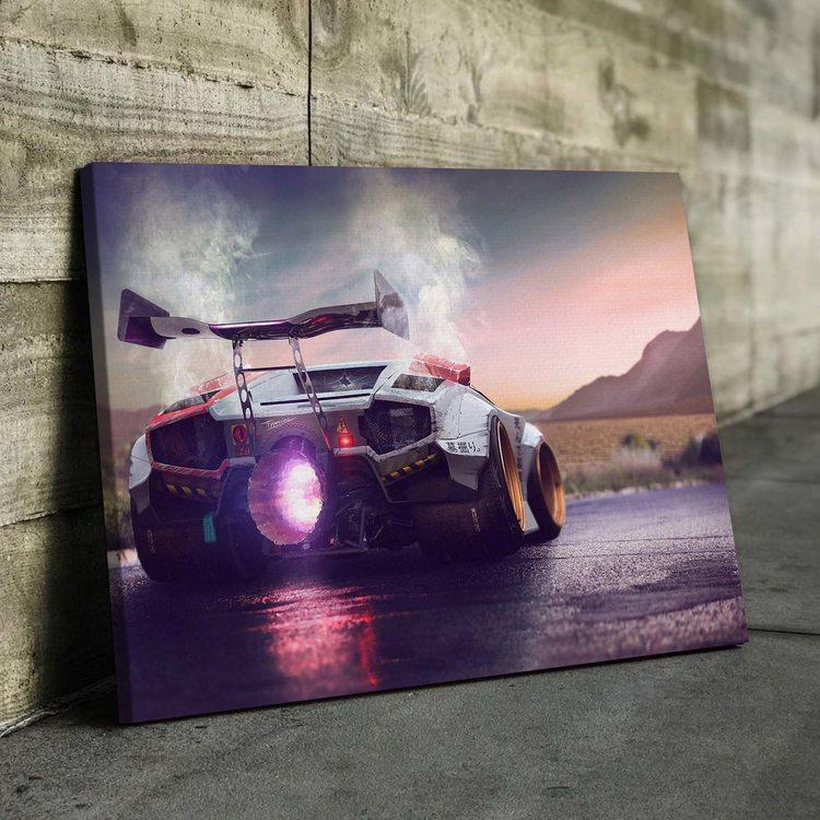 Картина Lamborghini Countach