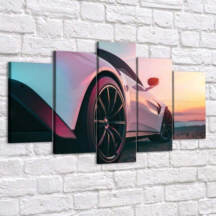 Модульная картина Lamborghini Sesto Elemento
