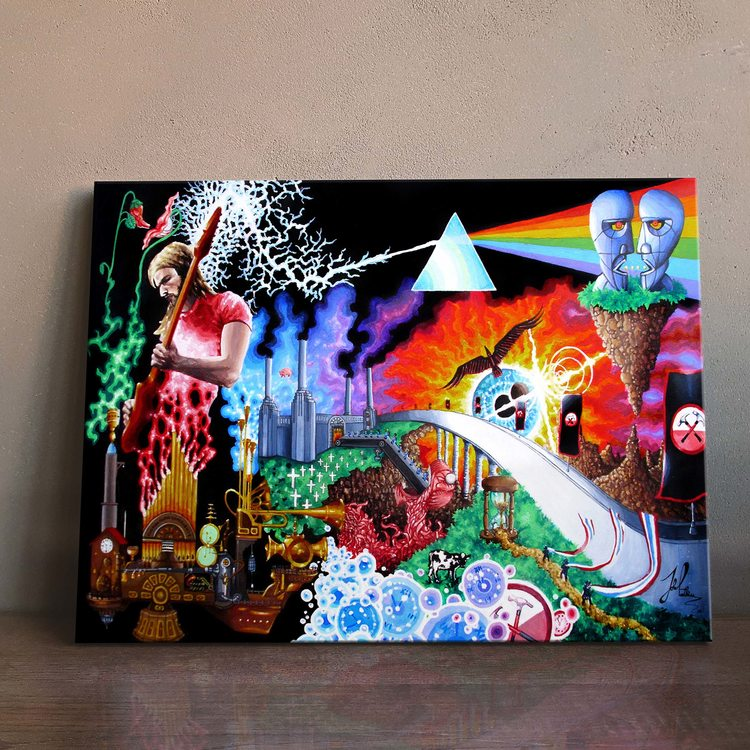 Картина Pink Floyd - Психоделика
