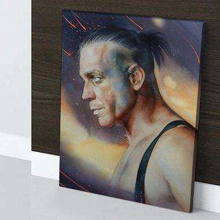 Картина Till Lindemann - Rammstein