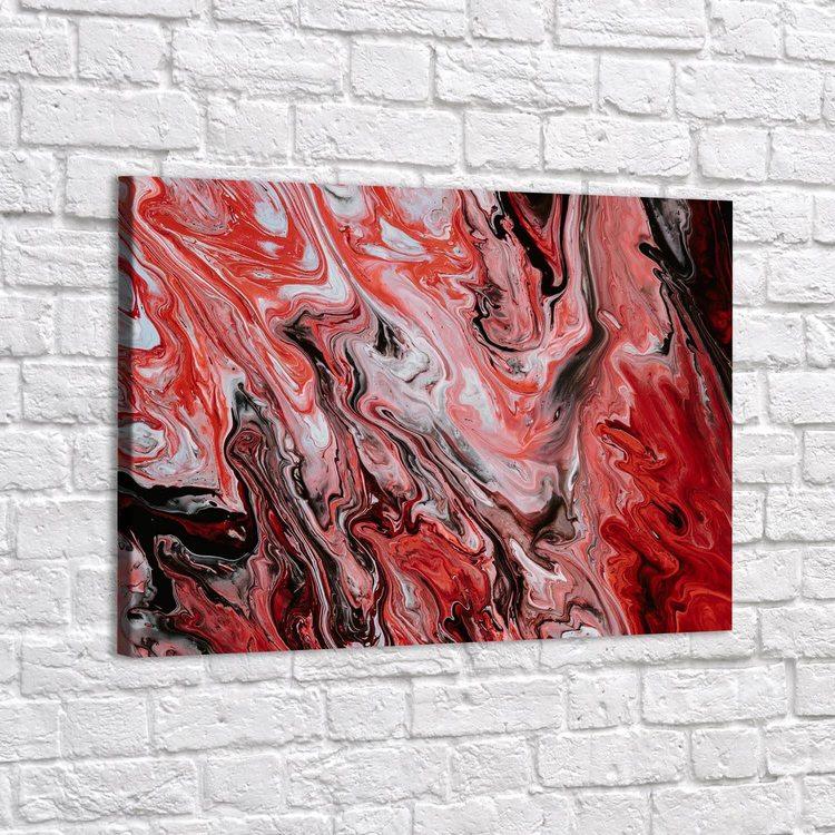 Картина Алый Мрамор - p53856