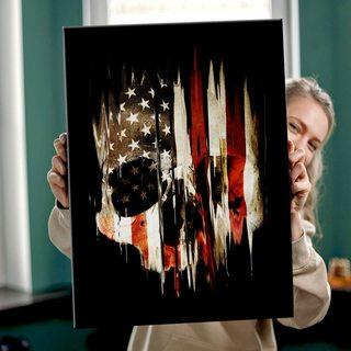 Картина Американский Череп