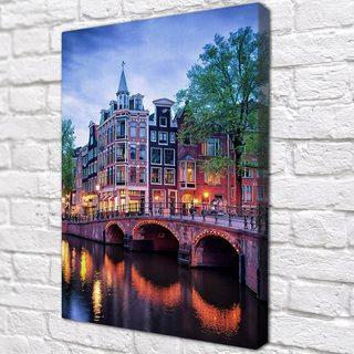 Картина Амстердамский Вечер