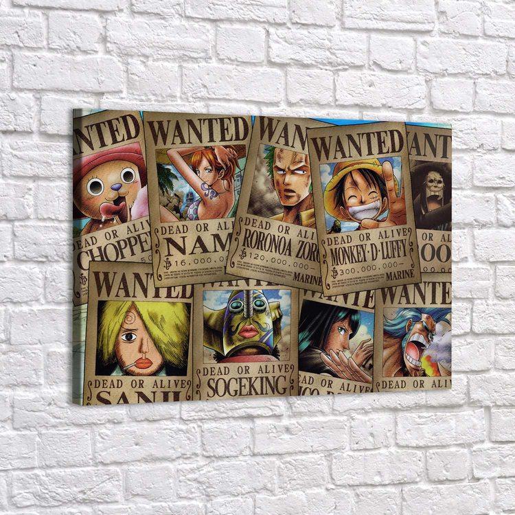 Картина One Piece - Розыск