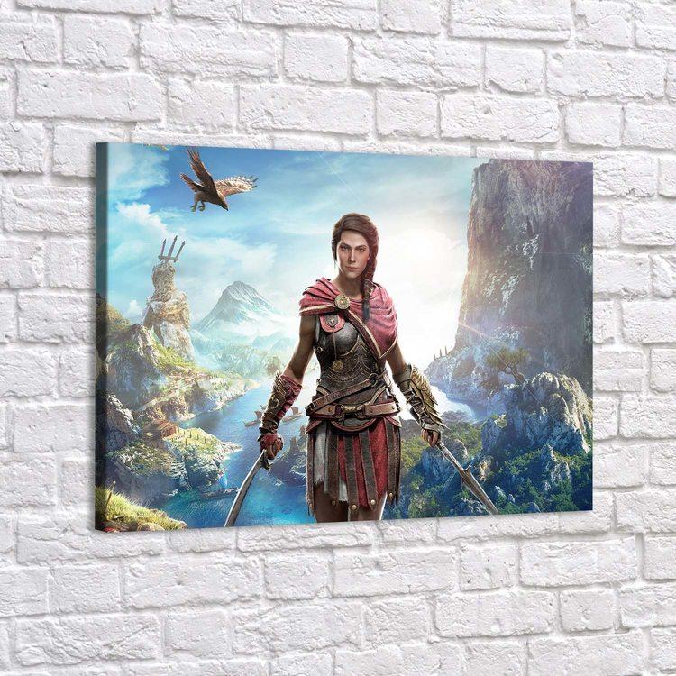 Картина Assassins Creed - Касандра