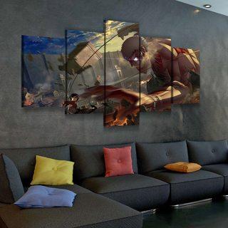 Картина по аниме Атака Титанов