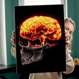 Картина Атомный Мозг