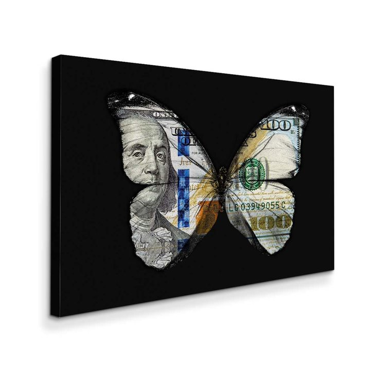 Картина Бабочка И Доллар