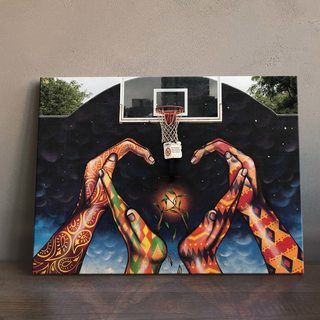 Картина Граффити Баскетбол
