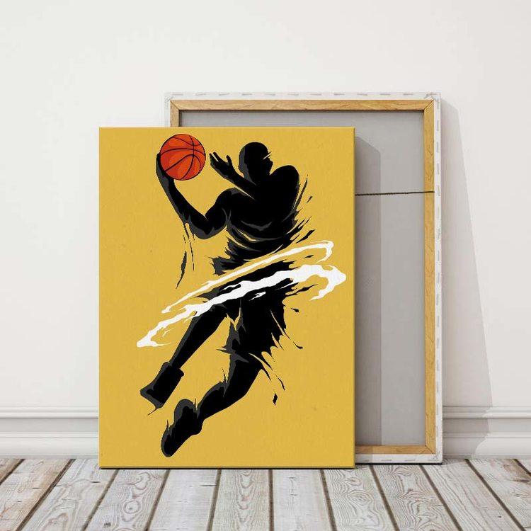 Картина Баскетболист - Арт