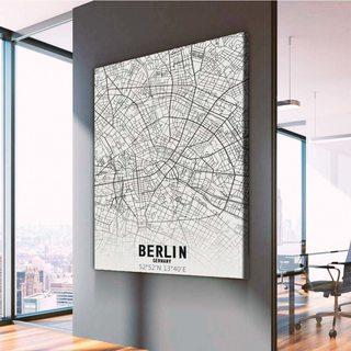 Картина Карта Берлин