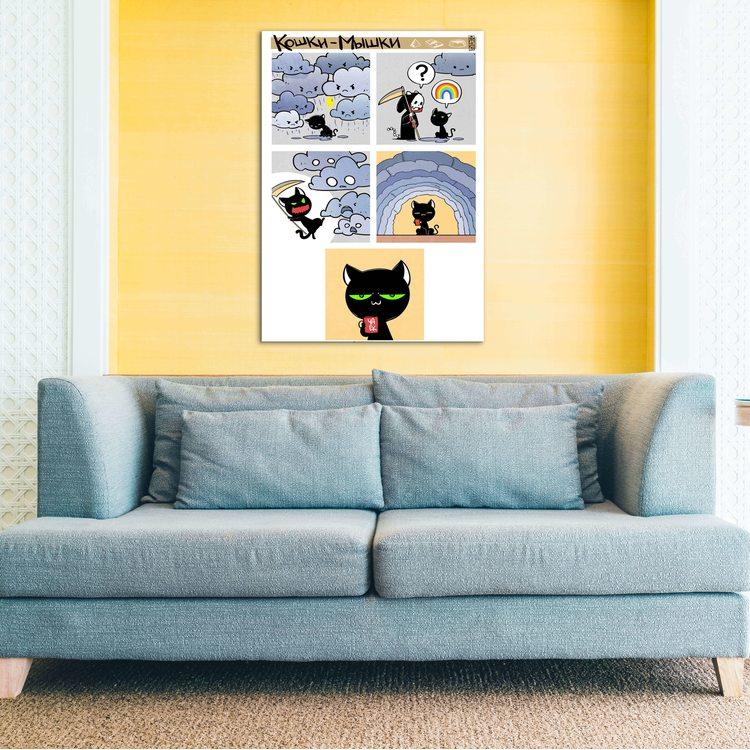 Картина Black Cat Comics