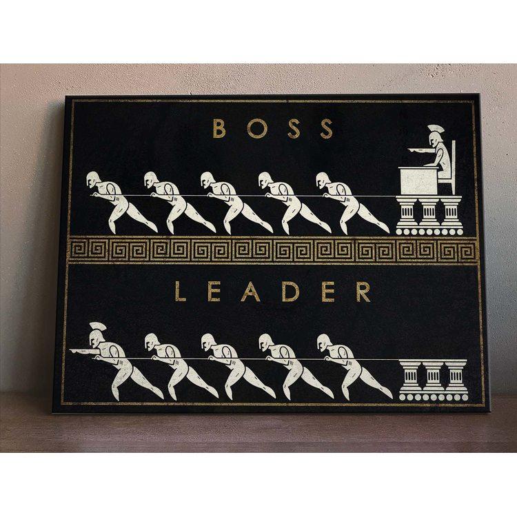 Картина Boss Leader