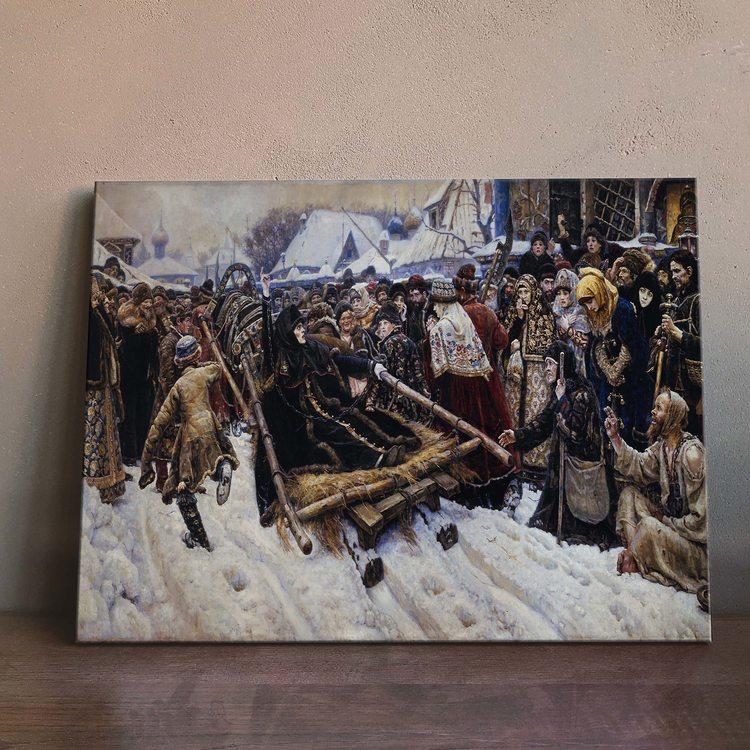 Картина Василий Суриков - Боярыня Морозова