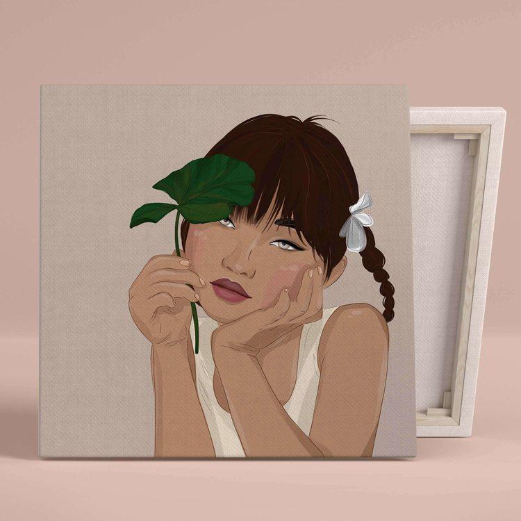 Картина Bright Girl