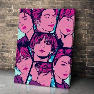 Картина BTS Мозаика