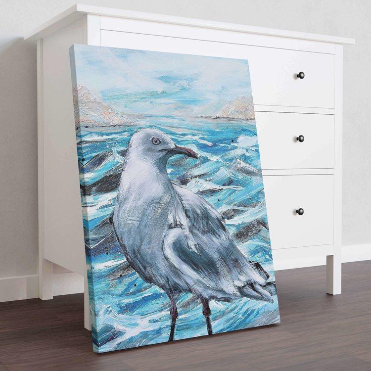 Картина Чайка На Море - p53683
