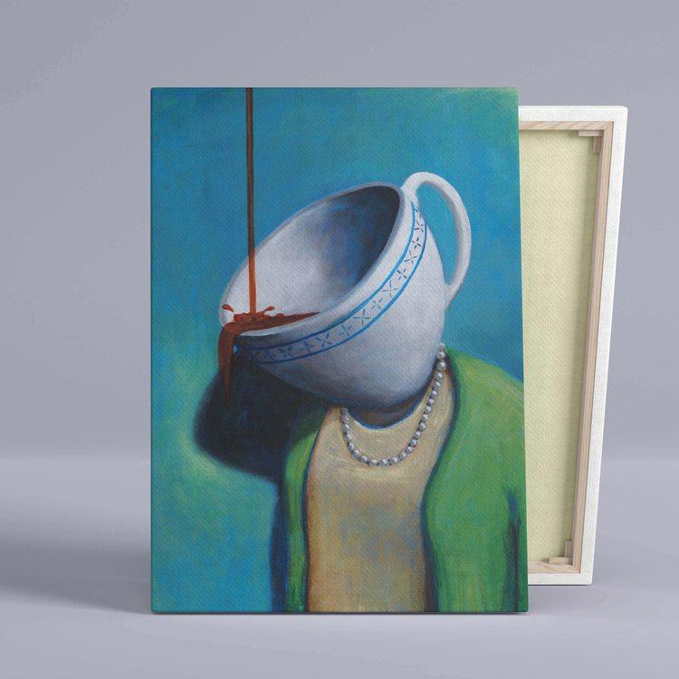 Картина Чашка Сюрреализм - p53702