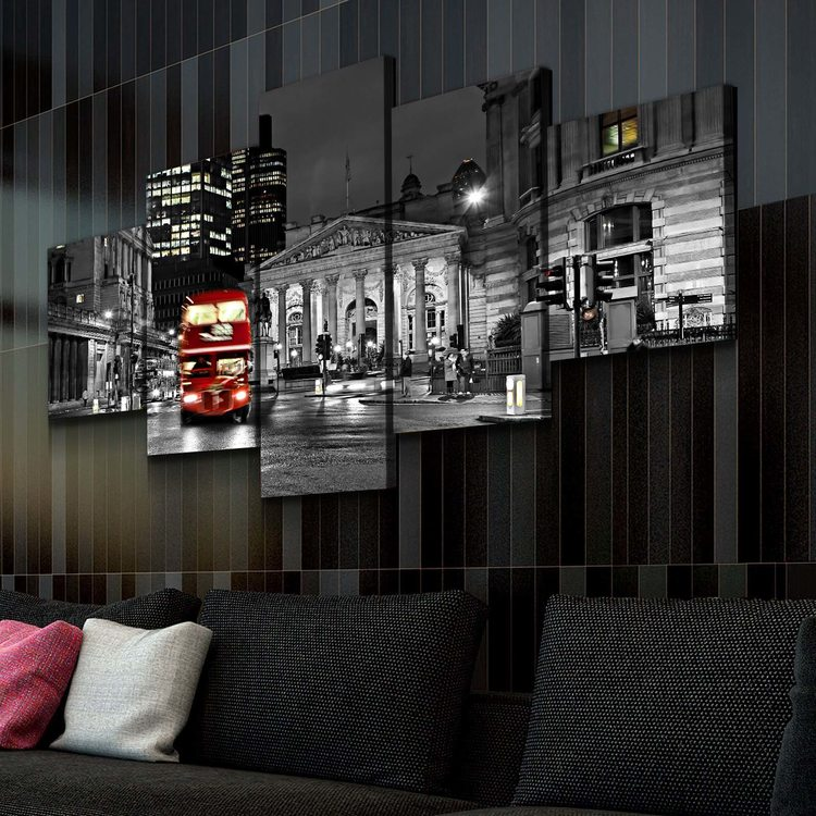 Картина Ночь В Лондоне