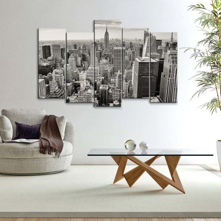Модульная картина Манхэттен