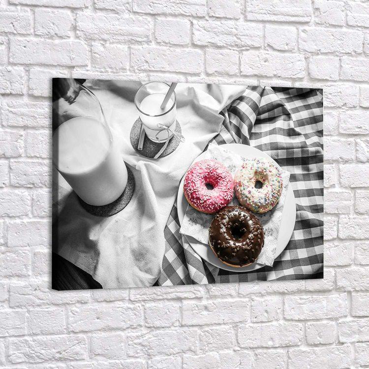 Картина Пончики На Завтрак