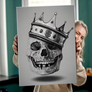 Картина Череп Король