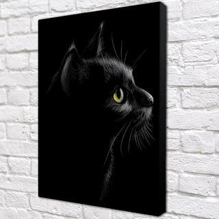 Картина Черная Кошка