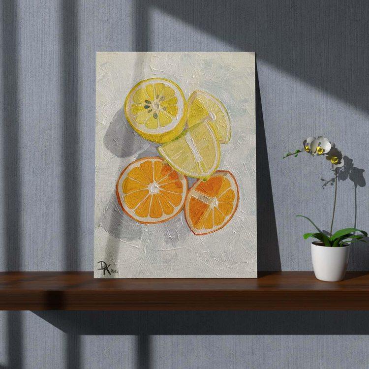 Картина Цитрусовые - p53686