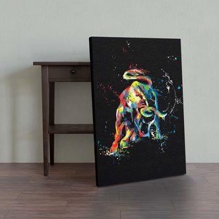 Картина Colored Bull