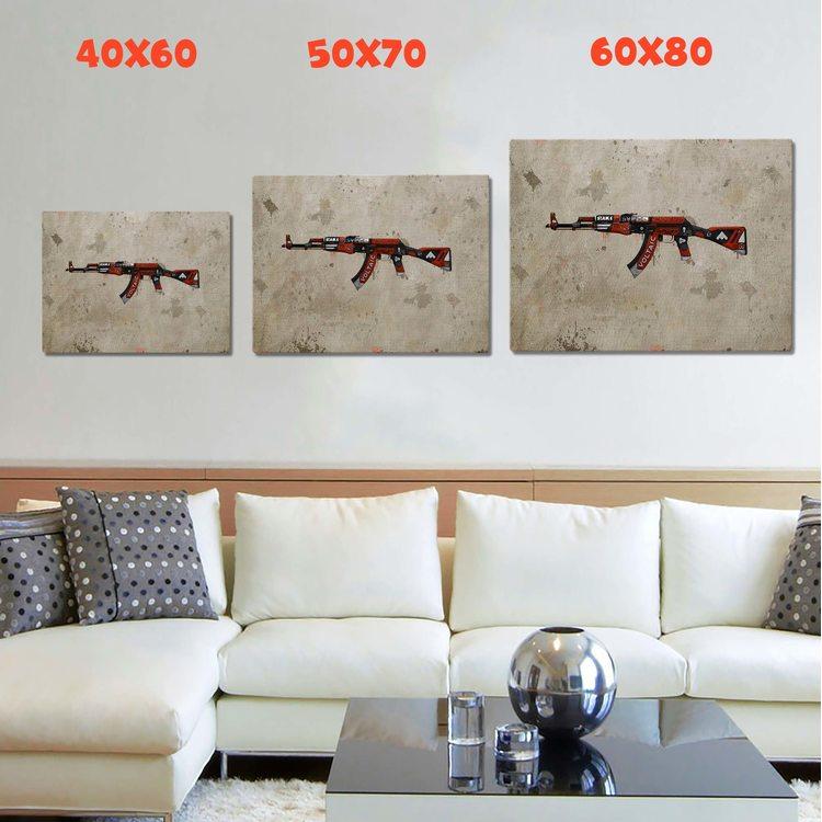 Картина CS - Ak47